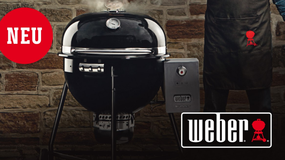 Der neue Summit Charcoal Grill